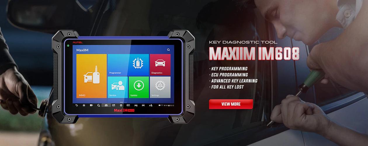 Autel IM608 MaxiIM 608 OBD2 Scanner OBDII Car Auto Diagnostic Tool