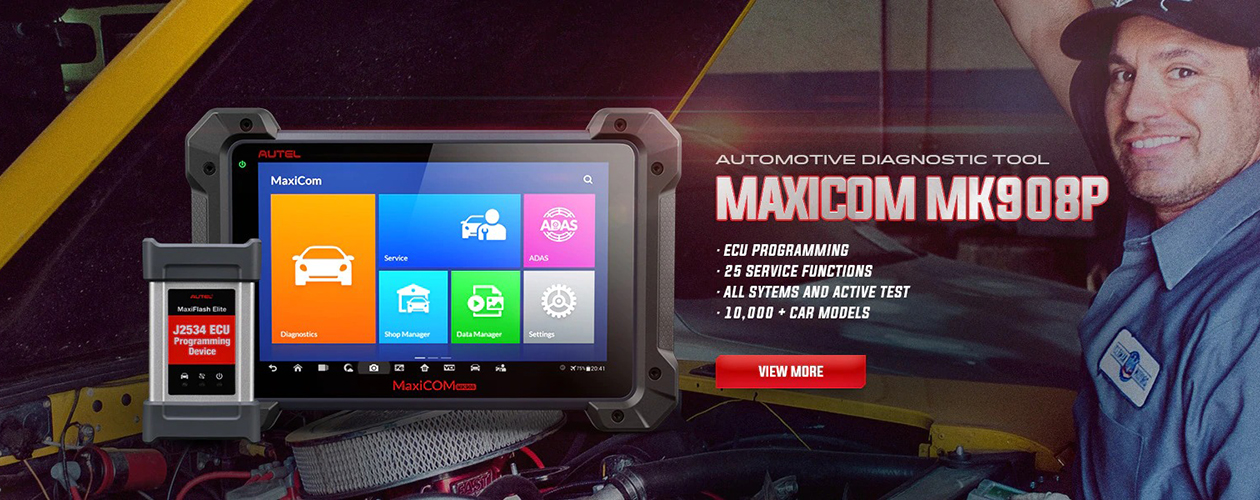 Autel MK908P Car Diagnostic Scanner